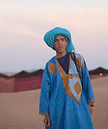 Young berber, Merzouga, Sahara Desert, Morocco