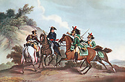 Edward Paget (1775-1849) British general, second in command to Wellington 1811, captured by the enemy. After a contemporary print.