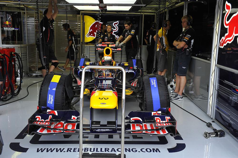 Sebastian Vettel (GER), Red Bull Racing ..2012 FIA Formula One World Championship - Hungarian Formula One Grand Prix, Hungaroring, Budapest, Hungary, Friday 27th July 2012...