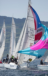 Final days' racing at the Silvers Marine Scottish Series 2016, the largest sailing event in Scotland organised by the  Clyde Cruising Club<br /> <br /> Racing on Loch Fyne from 27th-30th May 2016<br /> 7061, Rammie, M Fleming/D Smith, ASYC<br /> <br /> Credit : Marc Turner / CCC<br /> For further information contact<br /> Iain Hurrel<br /> Mobile : 07766 116451<br /> Email : info@marine.blast.com<br /> <br /> For a full list of Silvers Marine Scottish Series sponsors visit http://www.clyde.org/scottish-series/sponsors/