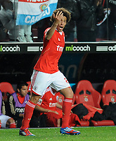 20120331: LISBON, PORTUGAL - Portuguese Liga Zon Sagres 2011/2012 - SL Benfica vs CS Braga.<br /> In picture: Benfica's midfielder Axel Witsel, from Belgium.<br /> PHOTO: Alvaro Isidoro/CITYFILES
