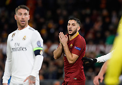 November 27, 2018 - R, Italy - Kostas Manolas during the UEFA Champions League match group G between AS Roma and Real Madrid FC at the Olympic stadium on november 27, 2018 in Rome, Italy. (Credit Image: © Silvia Lore/NurPhoto via ZUMA Press)