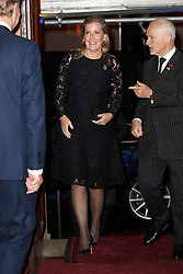 Sophie, Countess of Wessex, arrives for the annual Royal British Legion Festival of Remembrance at the Royal Albert Hall in London, which commemorates and honours all those who have lost their lives in conflicts.