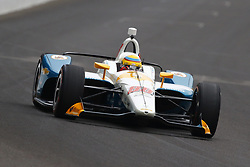 May 18, 2018 - Indianapolis, Indiana, United States of America - GABBY CHAVES (88) of Colombia brings his car down the frontstretch during ''Fast Friday'' practice for the Indianapolis 500 at the Indianapolis Motor Speedway in Indianapolis, Indiana. (Credit Image: © Chris Owens Asp Inc/ASP via ZUMA Wire)