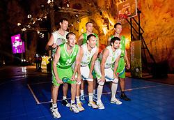 during FIBA Europe Eurobasket 2013 draw ceremony on November 18, 2012 in Postojna cave, Postojna, Slovenia. (Photo By Vid Ponikvar / Sportida)