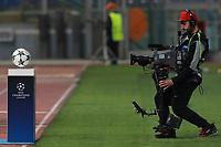 Cameraman  Tv Camera ball <br /> Roma 13-03-2018 Stadio Olimpico<br /> Football Calcio UEFA Champions League 2017/2018<br /> AS Roma - Shakhtar Donetsk<br /> Quarti di finale ritorno, Round of 16 2st leg<br /> Foto Cesare Purini / Insidefoto