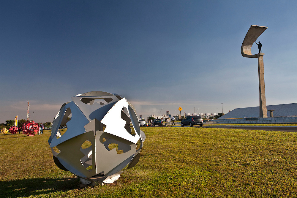 Brasilia_DF, Brasil...Memorial JK em Brasilia, Distrito Federal...JK Memorial in Brasilia, Distrito Federal...Foto: JOAO MARCOS ROSA / NITRO