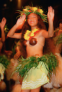 Dancer, South Pacific, (editorial use only- no model release)<br />