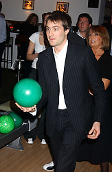 BEN GOLDSMITH at the opening party for a new bowling alley All Star Lanes, at Victoria House, Bloomsbury Place, London on 19th January 2006.<br />