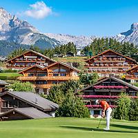 30.08.2019; Crans Montana; GOLF - European Masters - 2.Runde;<br /> Tommy Fleetwood (ENG) <br /> (Andy Mueller/freshfocus)