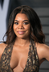 March 4, 2018 - Beverly Hills, California, U.S - Regina Hall on the red carpet of the 2018 Vanity Fair Oscar  Party held at the Wallis Annenberg Center in Beverly Hills,  California on Sunday March 4, 2018. (Credit Image: © Prensa Internacional via ZUMA Wire)