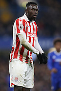 Mame Biram Diouf of Stoke City  looking on. Premier league match, Chelsea v Stoke city at Stamford Bridge in London on Saturday 31st December 2016.<br /> pic by John Patrick Fletcher, Andrew Orchard sports photography.