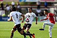 Fotball ,  OBOS-Ligaen<br /> 13.05.18<br /> Gjemselund kunstgress<br /> Kongsvinger v Mjøndalen<br /> Foto :  Dagfinn Limoseth , Digitalsport<br /> Sondre Solholm Johansen, Mjøndalen
