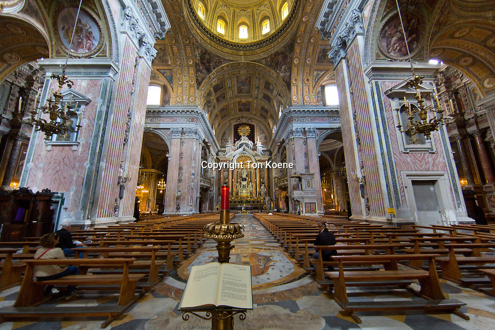 Church of Gesù Nuovo at <br /> Piazza del Gesù Nuovo, naples