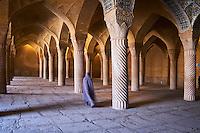 Iran, province du Fars, Shiraz, mosquée Vakil // Iran, Fars Province, Shiraz, Vakil mosque