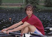 Lucerne, SWITZERLAND. GRB W8+, Dot BLACKIE, 1992 FISA World Cup Regatta, Lucerne. Lake Rotsee.  [Mandatory Credit: Peter Spurrier: Intersport Images] 1992 Lucerne International Regatta and World Cup, Switzerland