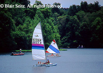 PA landscapes Sailing, PA Lakes, Gifford PinchotState Park, York Co., PA