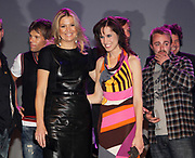 EDISON POP AWARDS 2010 in  het World Trade Center, Rotterdam <br /> <br /> op de foto:  Princes Maxima met   Nynke Laverman