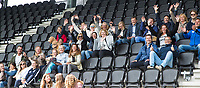 AMSTELVEEN  - finale meisjes Jong. .  Het Nieuwe Eemland-Linge College. Eemland  wint de titel. .  NK Schoolhockey.    COPYRIGHT  KOEN SUYK