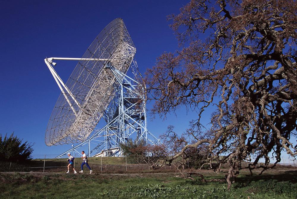 Silicon Valley, California; Palo Alto, radio telescopes at Stanford University.