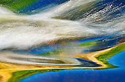 Bird River detail at TulabiFalls<br /> Nopiming Provincial Park<br /> Manitoba<br /> Canada