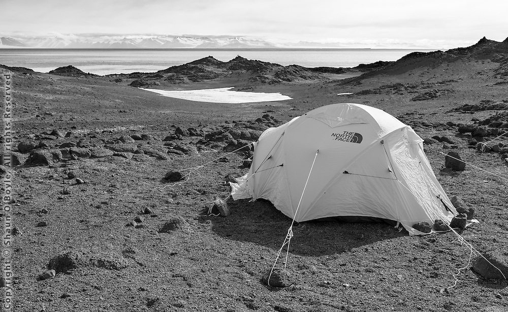 My home for three nights on Cape Royds.