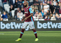 Football - 2016 / 2017 Premier League - West Ham United vs. Middesborough <br /> <br /> Simone Zaza of West Ham  at The London Stadium.<br /> <br /> COLORSPORT/DANIEL BEARHAM