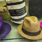 Wares for sale in the Old City, Cuidad Vieja, Cartagena, Colombia.