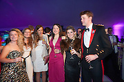 CHARLOTTE FARMER-DAY; NICHOLAS WATSON, Quorn Hunt Ball, Stanford Hall. Standford on Soar. 25 January 2014