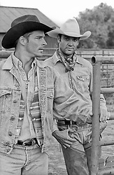 handsome cowboys outdoors