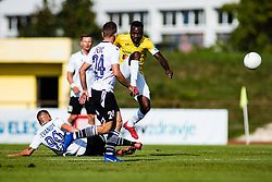 Ovbokha Agboyi of NK Bravo vs Stefan Stevanovic of NK Koper during football match between NK Bravo and NK Koper in 4th Round of Prva liga Telekom Slovenije 2020/21, on September 19, 2020 in Sport park ZAK, Ljubljana, Slovenia. Photo by Grega Valancic / Sportida