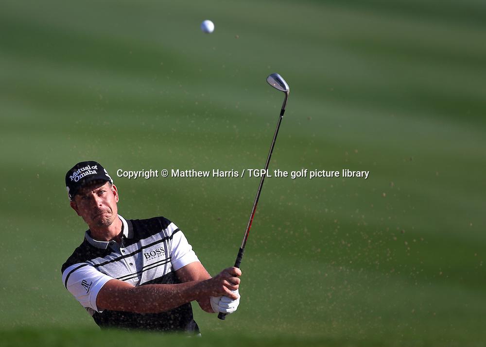 Henrik STENSON (SWE) during first round Commercialbank Qatar Masters 2014,Doha Golf Club,Doha,Qatar.