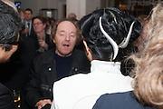RICHARD WILSON;  MARIKO MORI, Mariko Mori opening, Royal Academy Burlington Gardens Gallery. London. 11 December 2012.