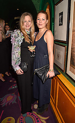 Left to right, sisters Astrid Harbord and Davina Harbord at the Annabel's Bright Young Things Party held at Annabel's, 44 Berkeley Square, London England. 16 February 2017.