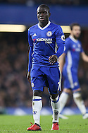 Ngolo Kante of Chelsea looking on. Premier league match, Chelsea v Stoke city at Stamford Bridge in London on Saturday 31st December 2016.<br /> pic by John Patrick Fletcher, Andrew Orchard sports photography.