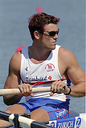 St Catherines, CANADA,  GBR M4- James CRACKNELL  competing at the 1999 World Rowing Championships - Martindale Pond, Ontario. 08.1999..[Mandatory Credit; Peter Spurrier/Intersport-images]   ...St Catherines, CANADA,  GBR W2-, Bow Dot BLACKIE and Cath BISHOP,  competing at the 1999 World Rowing Championships - Martindale Pond, Ontario. 08.1999..[Mandatory Credit; Peter Spurrier/Intersport-images]   ... 1999 FISA. World Rowing Championships, St Catherines, CANADA