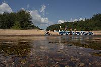 Kayaking down the Saco River, North Conway, NH.  ©2015 Karen Bobotas Photographer
