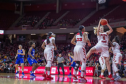 NORMAL, IL - December 20: Lexy Koudelka during a college women's basketball game between the ISU Redbirds and the St. Louis Billikens on December 20 2018 at Redbird Arena in Normal, IL. (Photo by Alan Look)