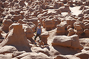 SHOT 5/22/17 8:58:24 AM - Emery County is a county located in the U.S. state of Utah. As of the 2010 census, the population of the entire county was about 11,000. Includes images of mountain biking, agriculture, geography and Goblin Valley State Park. (Photo by Marc Piscotty / © 2017)