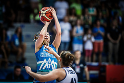 Annamaria Prezelj of Slovenia during basketball match between Women National teams of Italy and Slovenia in Group phase of Women's Eurobasket 2019, on June 30, 2019 in Sports Center Cair, Nis, Serbia. Photo by Vid Ponikvar / Sportida