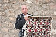 Local carpet maker in Kratovo, Macedonia. © Rudolf Abraham