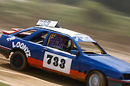 Car 733, a non-points scoring Sierra, in action during the race meeting at Smallfield Raceway, Surrey, UK on the 10th of July 2011 (photo by Andrew Tobin/SLIK images)