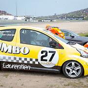 NLD/Zandvoort/20180520 - Jumbo Race dagen 2018, crash Prinses Laurentien