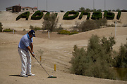 Abu Dhabi, United Arab Emirates (UAE). March 20th 2009.<br /> Al Ghazal Golf Club.<br /> 36th Abu Dhabi Men's Open Championship.<br /> Ken Ritzal