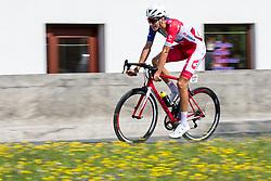 Aljaz Jarc (SLO) of Adria Mobil celebrates during 1st Stage of 26th Tour of Slovenia 2019 cycling race between Ljubljana and Rogaska Slatina (171 km), on June 19, 2019 in  Slovenia. Photo by Matic Klansek Velej / Sportida