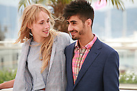 Actress Ingrid Garcia-jonsson and actor Carlos Rodrigez at the photo call for the film Beautiful Youth (Hermosa Juventud) at the 67th Cannes Film Festival, Monday 19th May 2014, Cannes, France.
