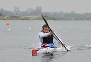 Eton, United Kingdom. Canoe Sprint, Ed McKEEVER, 2012 GB Canoeing Training, Dorney Lake. Wednesday  02/05/2012  [Mandatory Credit; Peter Spurrier/Intersport-images]
