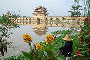 China, Yunnan, Jianshui, Twin Dragon Bridge