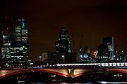 Londyn, 2009-10-23. Londyn nocą