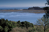 Overlooking Bolinas Lagoon and the Pacific Ocean, Marin County, California